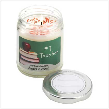 #1 TEACHER CANDLE