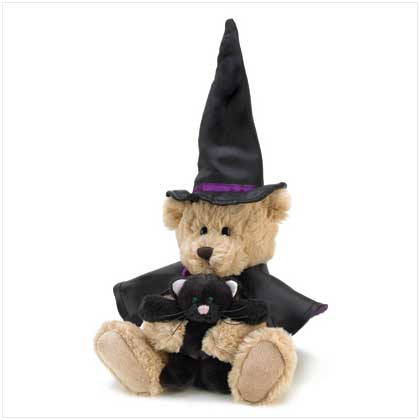 BEWITCHED BEAR PLUSH