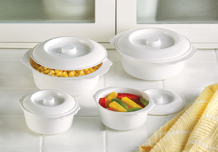 MICROWAVEABLE FOOD CUPS